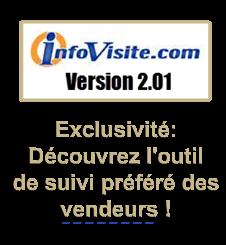 Infovisite.com, outil de suivi en ligne exclusif pour les vendeurs